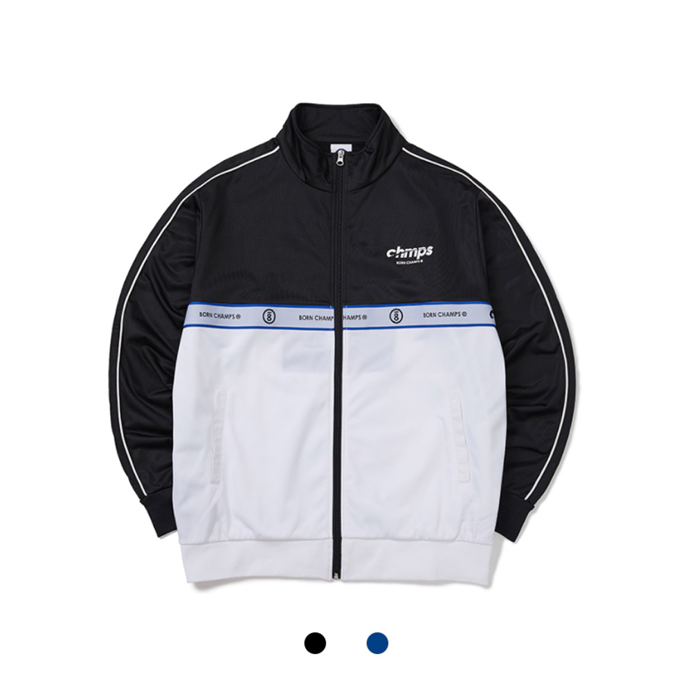 [BORNCHAMPS] BC TWO LINE TRACK TOP CETCMJK06 2COLOR